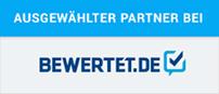 """Josef Füss Möbeltransporte und Umzüge eK trägt den Titel """"Partner"""" in der Kategorie """"Umzugsunternehmen"""" auf bewertet.de."""